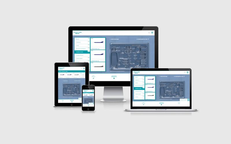 Der PPT Online-Konfigurator in seinen responsive Ausprägungen